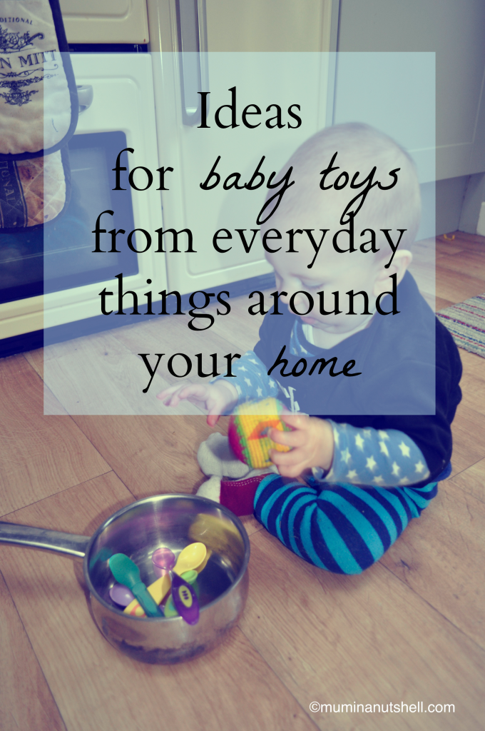 Baby toys on a shoe string