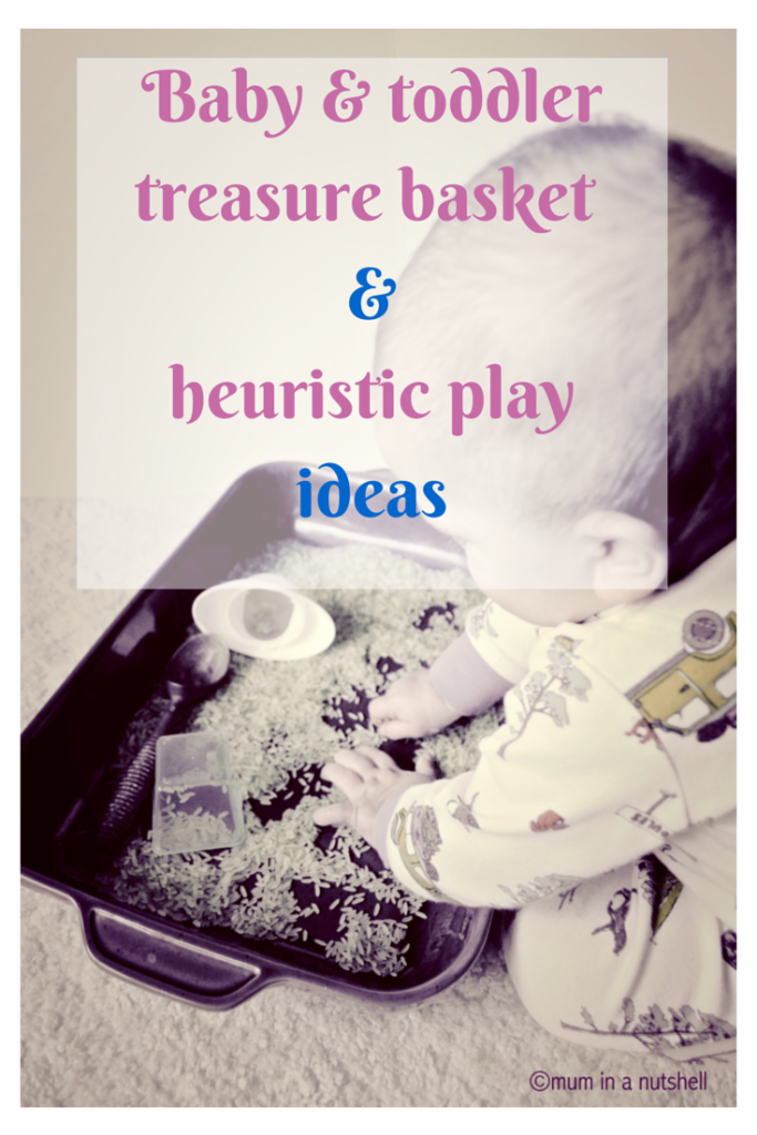 Treasure baskets for babies and toddlers