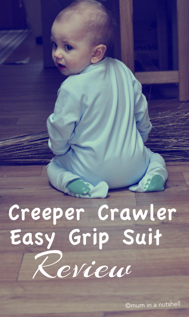 Creeper Crawlers Easy Grip Crawl Suit review