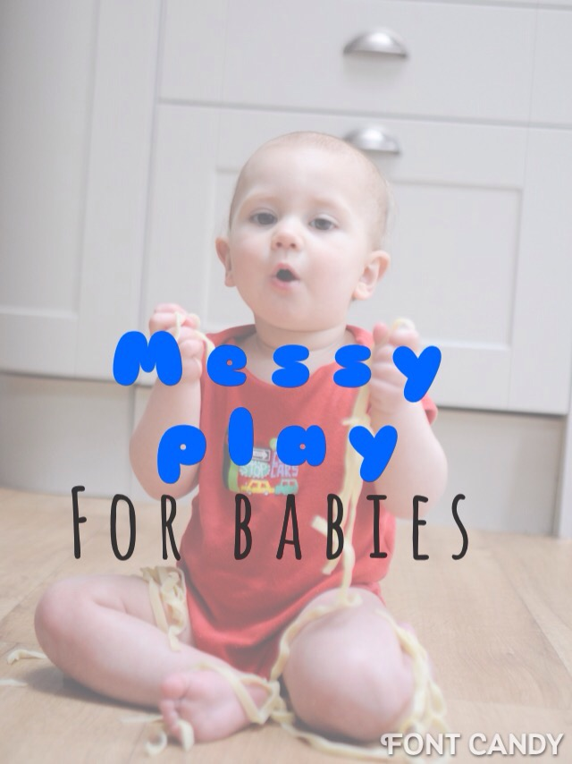 Messy play and fun with food