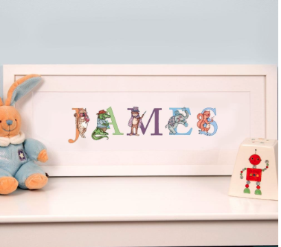 A Forever Bespoke Personalised Name Frame Review