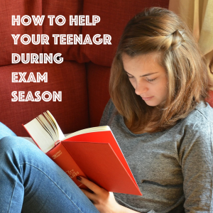 how to help your teenager prepare for their exams by mum in a nutshell