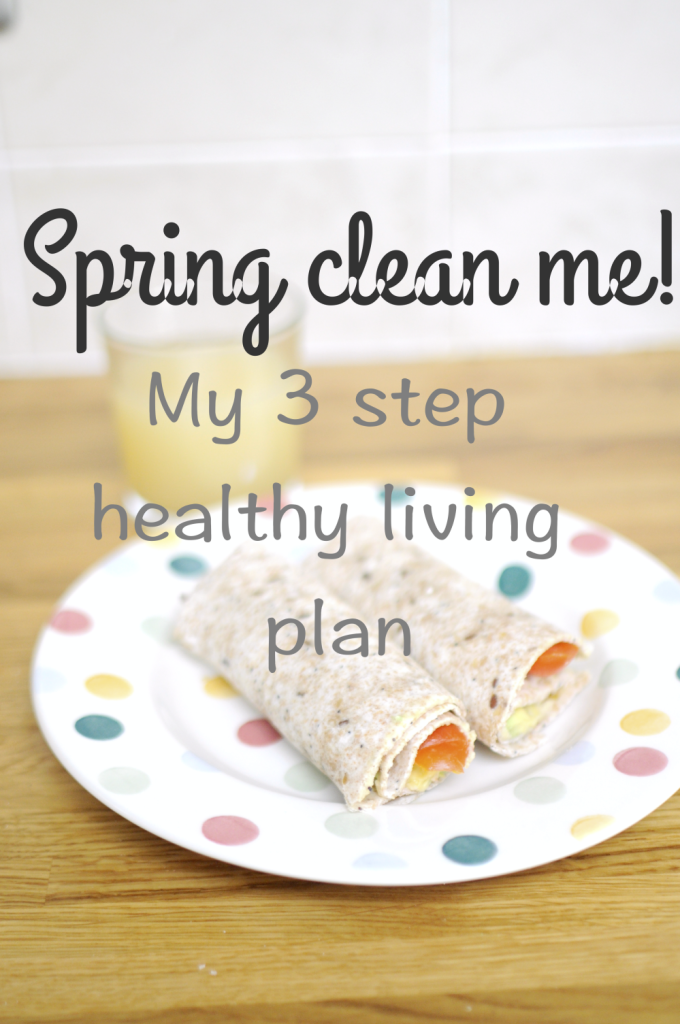 Spring Clean Me – my healthy living plan.