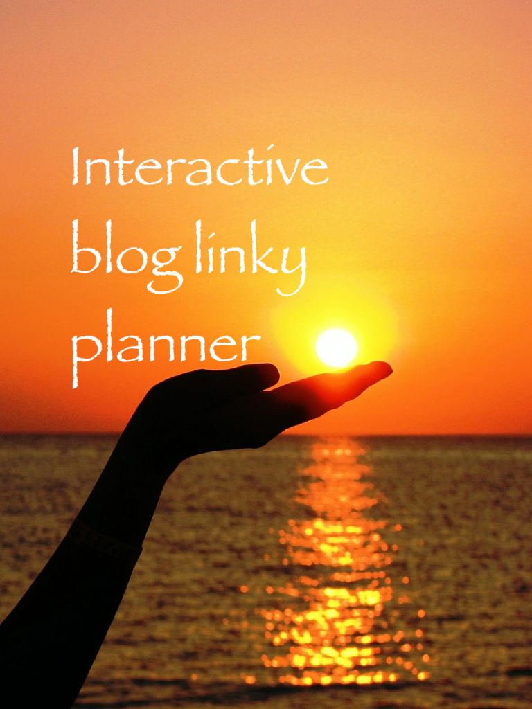 A parenting blog link up planner