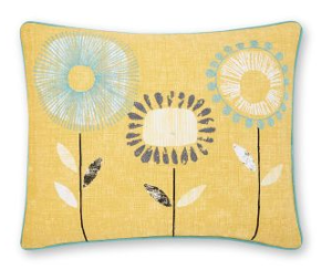 Bringing yellow in as an accent vcooour into a neutral colour scheme helps refresh your home for spring.