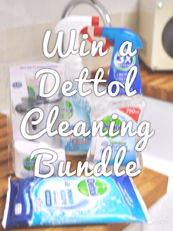 How clean is your home? A Dettol Giveaway