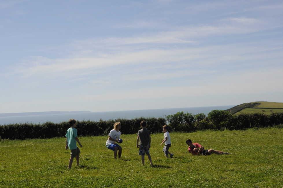 Family fun at the Croyde View Festival