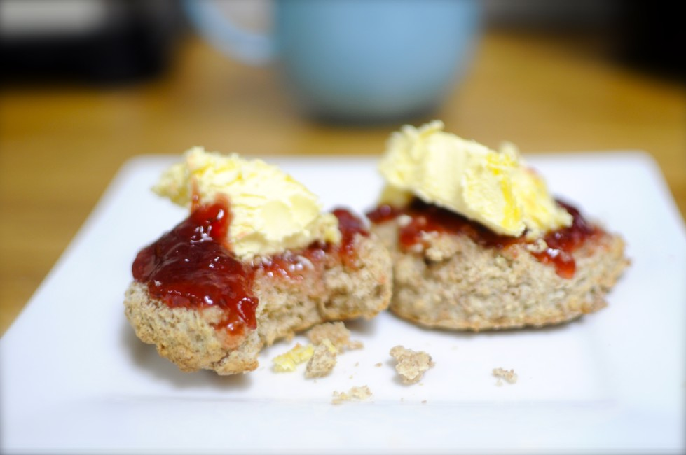 The perfect scone tea