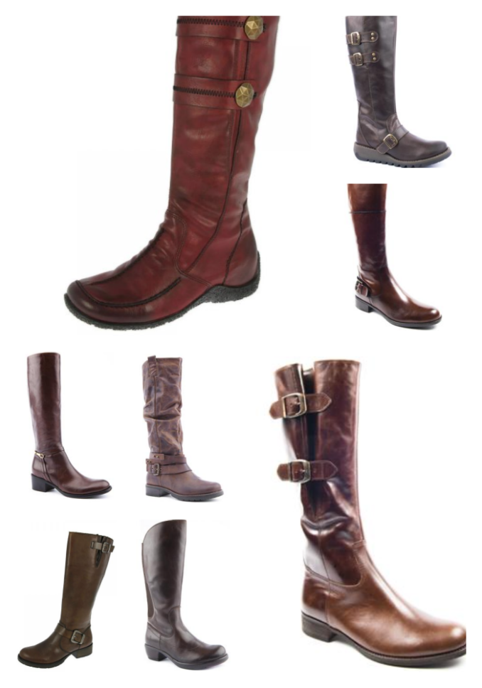 A wishlist for Autumn / Winter brown leather boots
