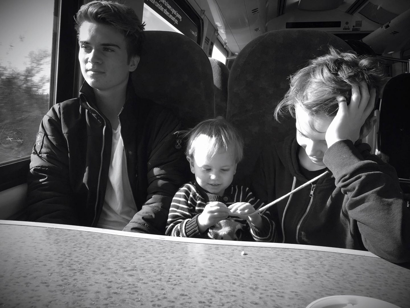 Tips for Stress Free Train Journeys With Toddlers