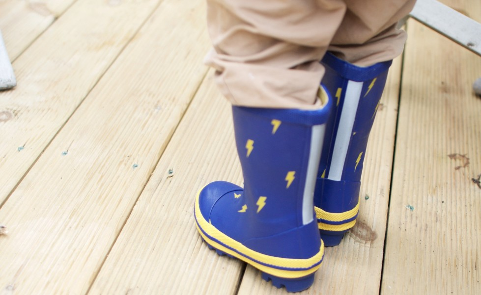 Opting for a more expensive welly boot for your kids gives you better features and comfort. These Muddy Puddle PuddleStompers will see you through all seasons.