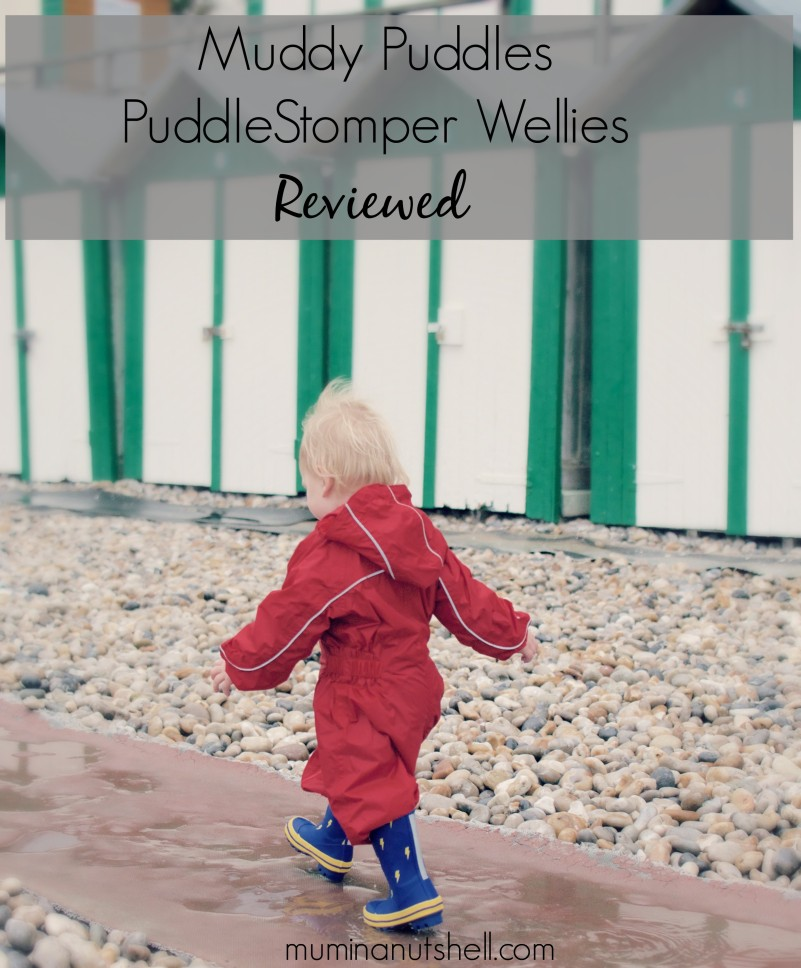 Muddy Puddles PuddleStomper Wellies | A Review
