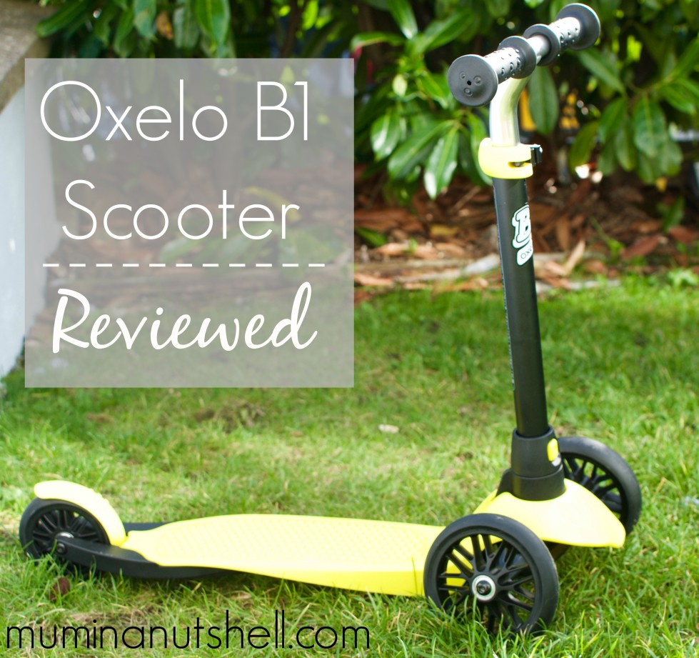 OXELO B1 SCOOTER  From Decalthlon
