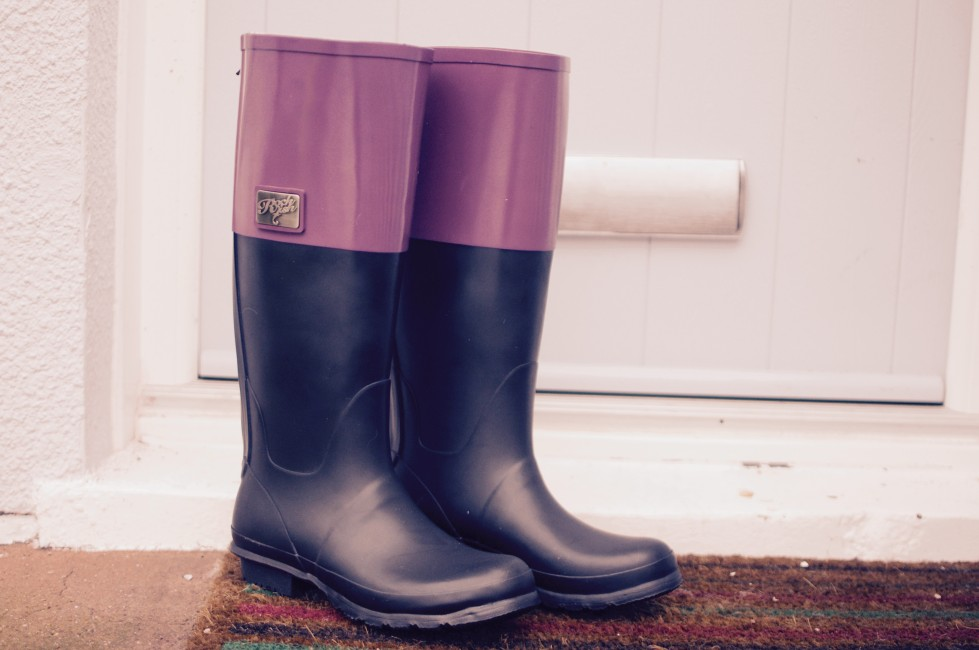 how to look fabulous in wellies
