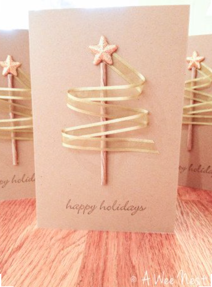 simple Christmas Cards anyone can make