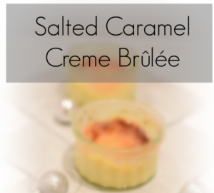 An unbelievably tasty recipe for salted caramel creme brûlée, you can substitute the salted caramel for Baileys, either way its a simple but delicious dessert.