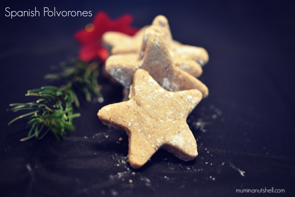Christmas almond cookies recipe (or Spanish Polvorones) these moreish and tasty Christmas biscuits are simple to make with only a few ingredients