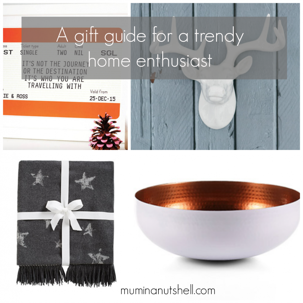 A Gift Guide for Home Lovers
