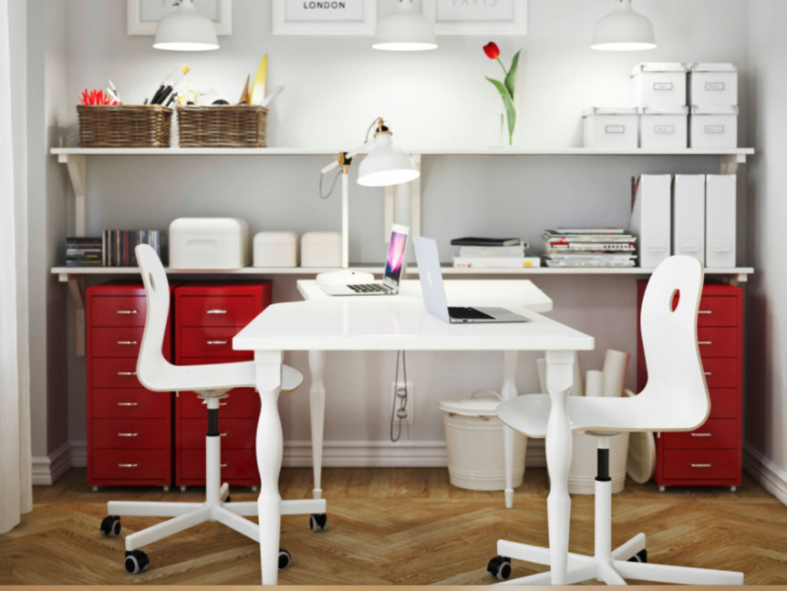 how to style a home office