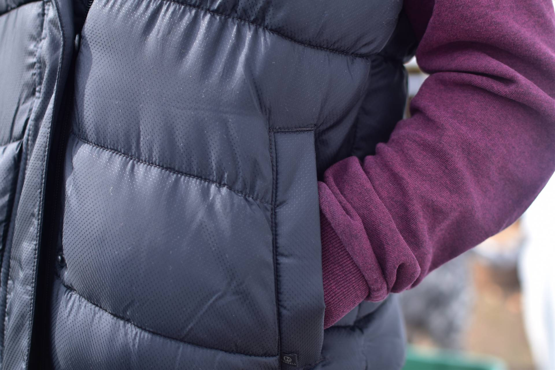 Review of the Merrell ladies Silvers featherless gilet