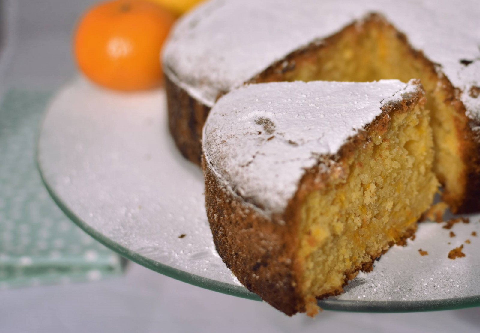 A recipe for oleic oil cake for a real taste of the mediterranean
