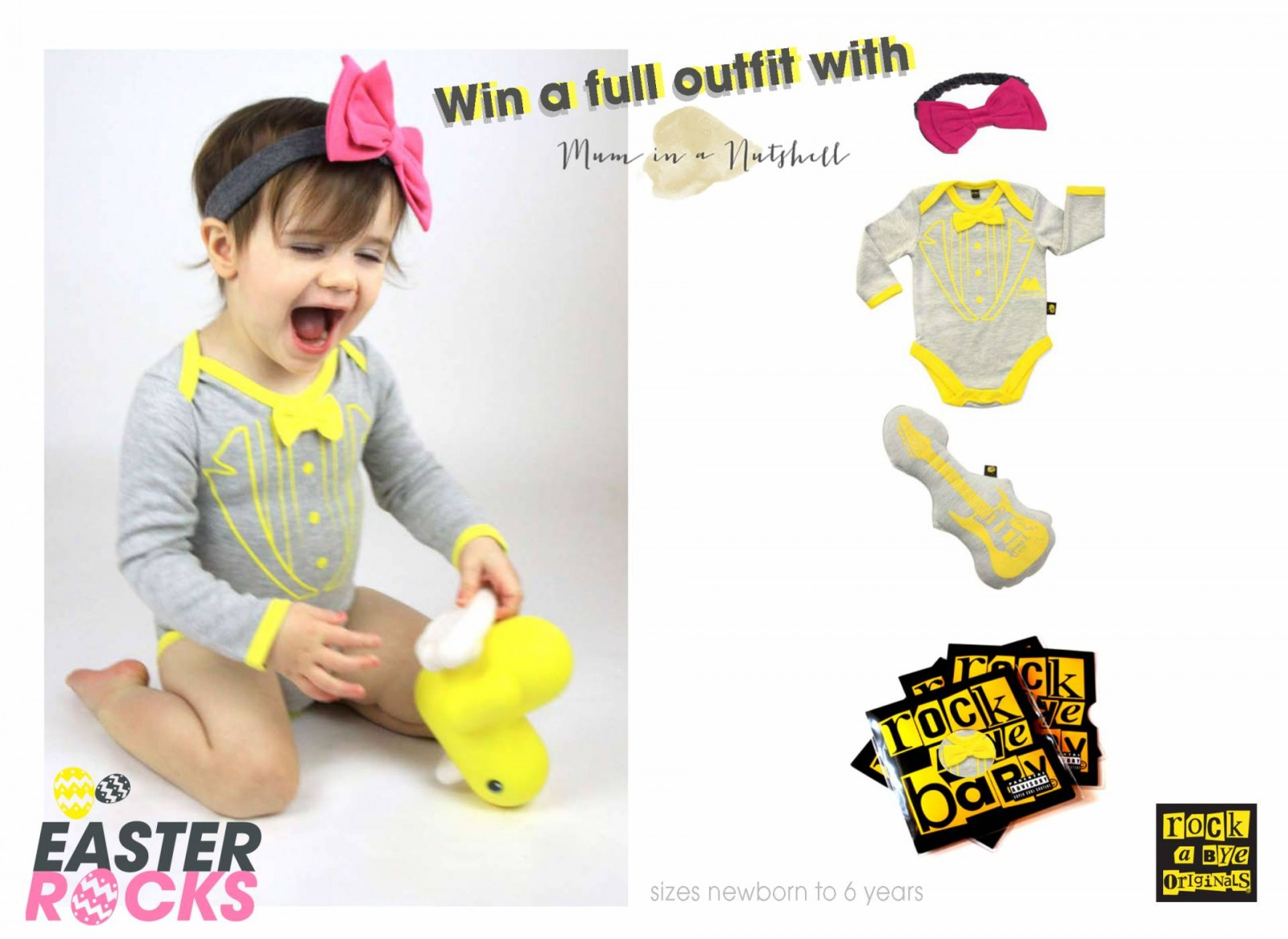 Win a Complete Rockabye Originals Outfit!