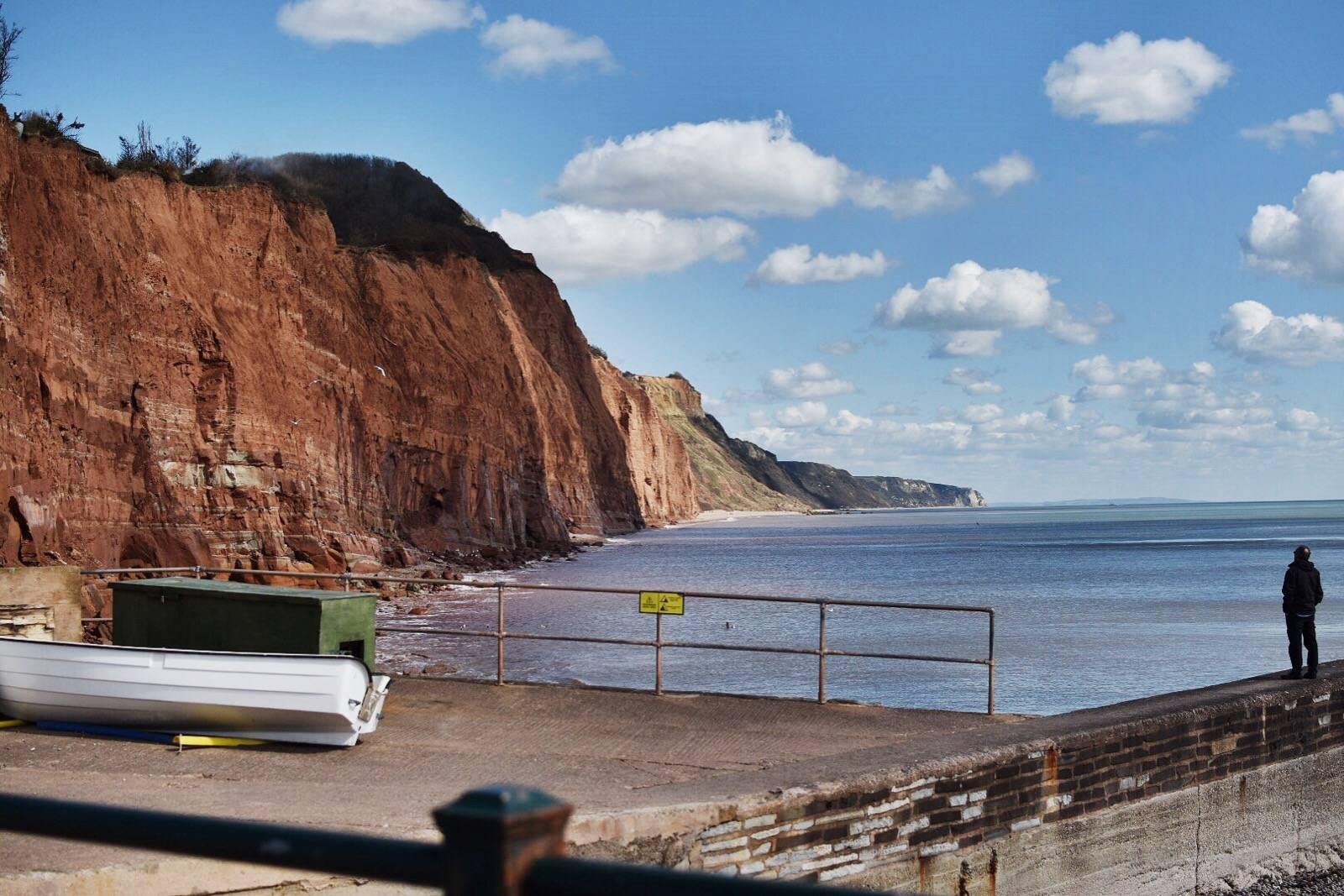 Getting out and about on the East Devon coast as I revisit my healthy living plan