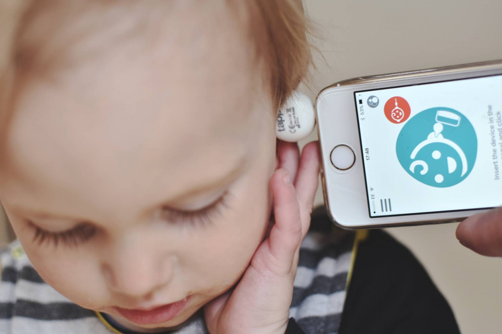 Win An Oblumi Tapp Thermometer & App For The Modern Parent