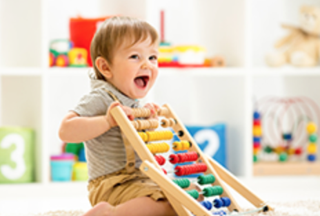 the little house of science is the perfect baby, toddler or kids class to help extend children's natural curiosity into how things work