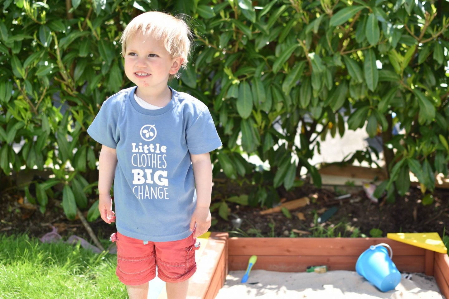 Supporting Frugi's #LittleClothesBigChange Campaign