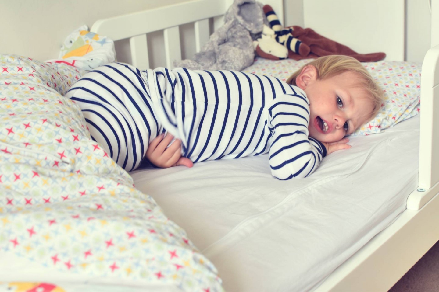 Sweet peanut clothes are super soft organic and sung fitting making them safe for bed time , my toddler love his pyjamas