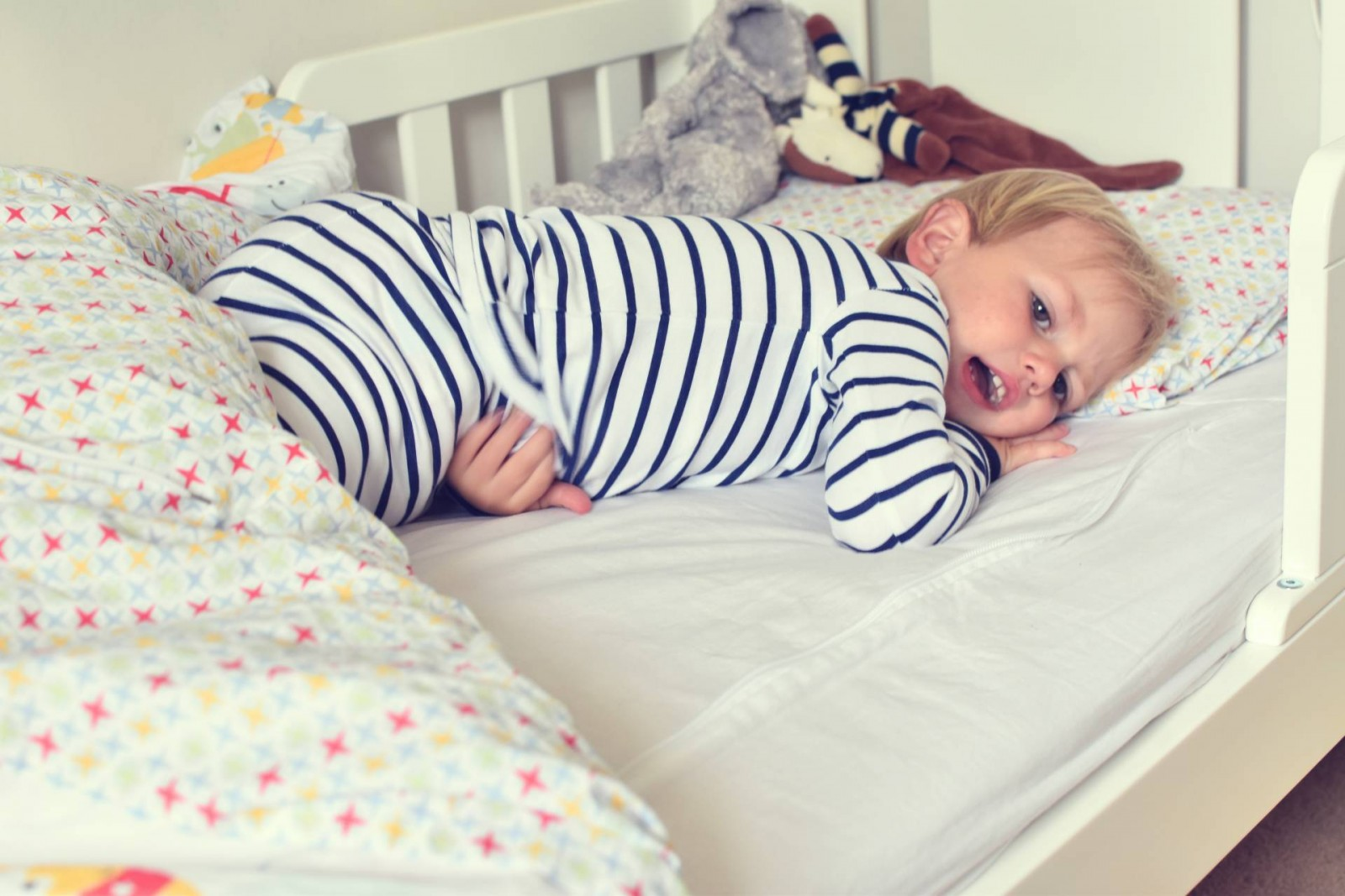 creating a safe, natural bedroom as part of our toddler makeover
