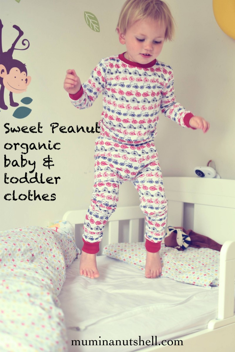 super soft organic cotton baby and toddler clothes from sweet peanut
