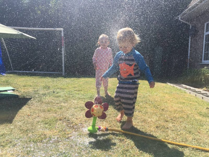 summer garden fun, can't beat it. the last in my living arrows collection for August