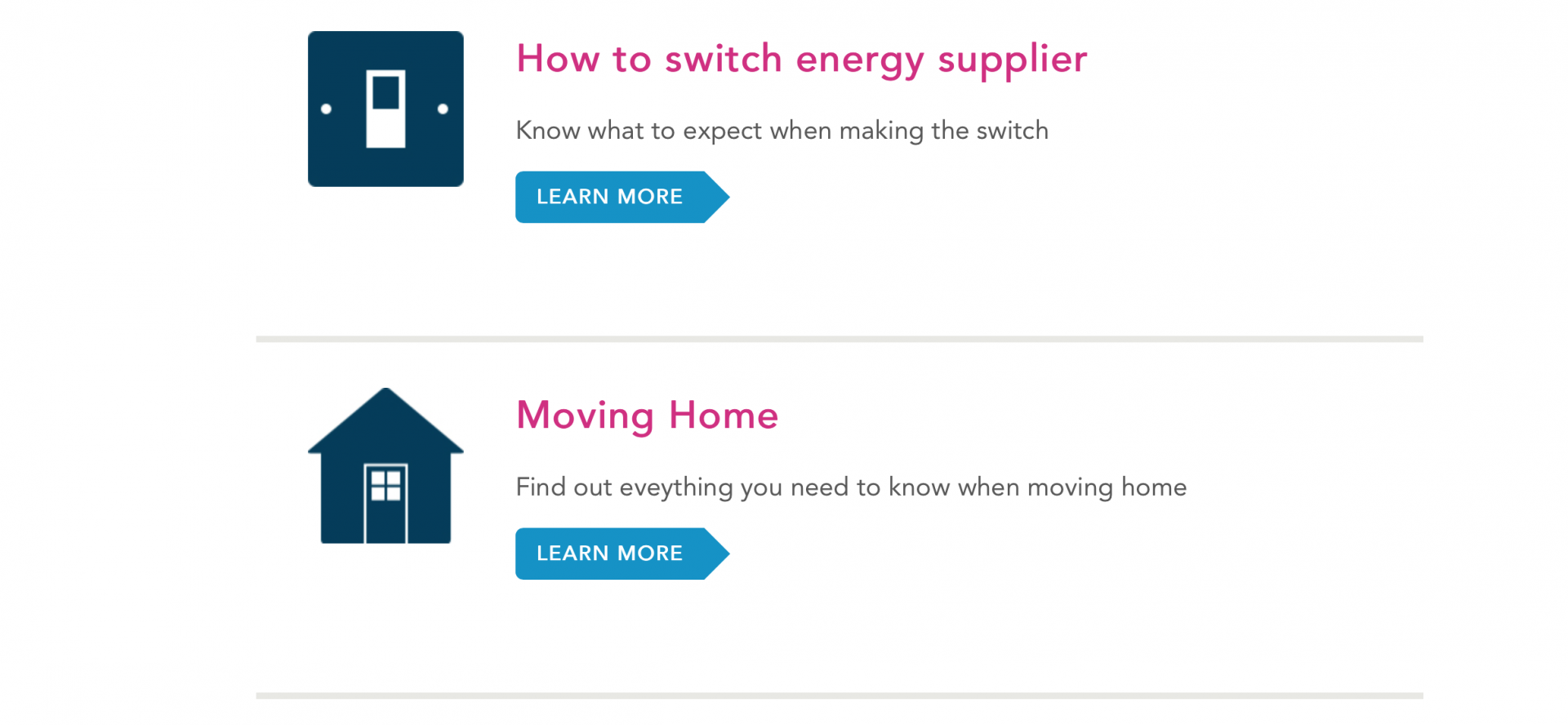 helping you switch energy suppliers and be a savy energy shopper
