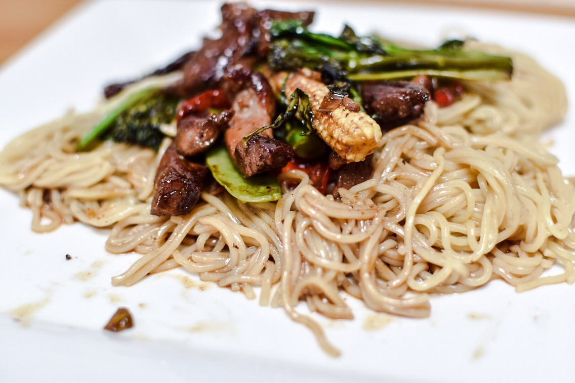 A Recipe For Teriyaki Lamb Stir-Fry
